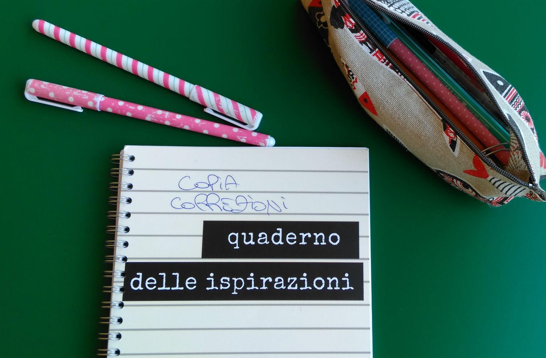 quaderno delle ispirazioni