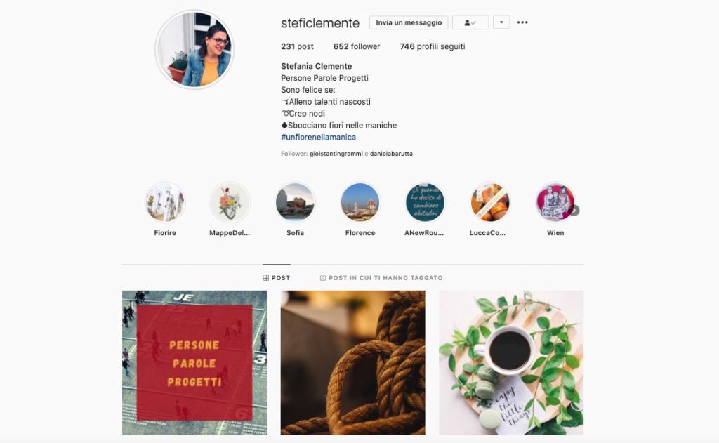 stefania clemente instagram